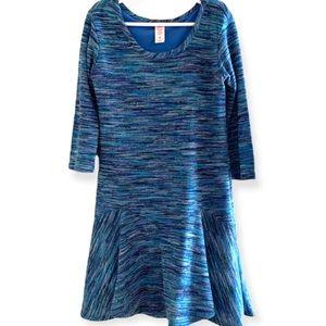 Justice Girls 3/4 Length Sleeve Dress